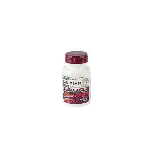 RED YEAST RICE 600MG 30 CAPS NATURE'S PLUS