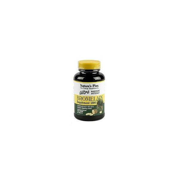 ULTRA BROMELAINA 1500MG 60 COMP NATURE'S PLUS