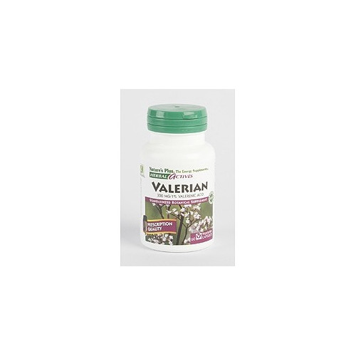 VALERIANA 300MG 60 CAP NATURE'S PLUS