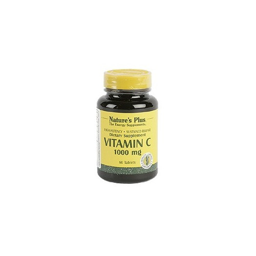 VITAMINA C 1000 60 COMP NATURE'S PLUS