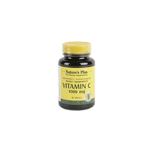 VITAMINA C 1000 60 COMP NATURE'S PLUS