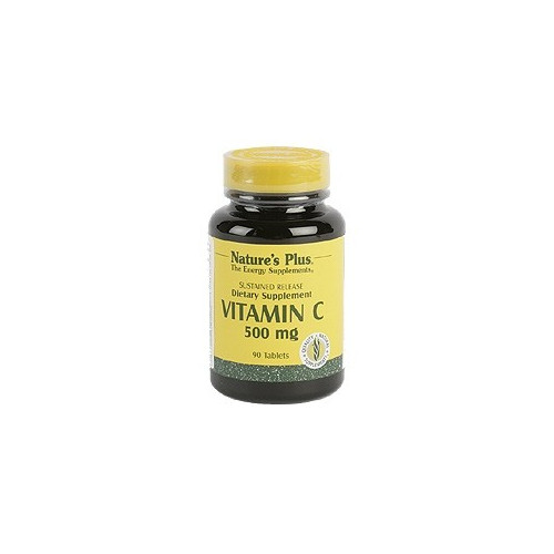 VITAMINA C 500 MG CON ESCARAMUJO 90 COMP NATURE'S PLUS