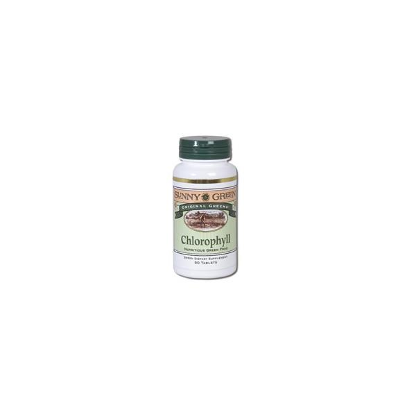 CHLOROPHYLL (CLOROFILA) 90 COMP SUNNY GREEN SOLARAY