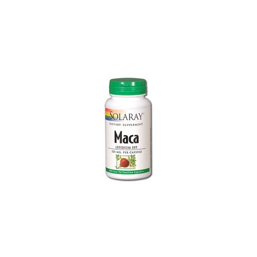 MACA 525 MG 100 CAP SOLARAY