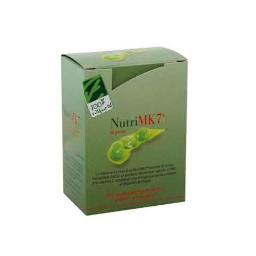 NUTRIMK7 MENAQUINONA 45 MCG HUESOS 60 PERLAS CIEN POR CIEN NATURAL