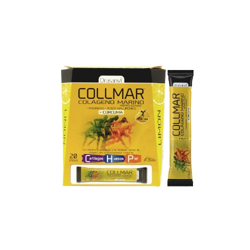COLLMAR MAGNESIO CURCUMA LIMON 20 STICKS DRASANVI