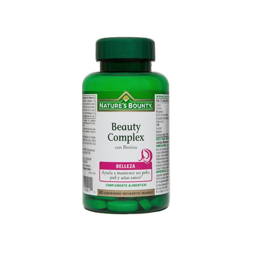 BEAUTY COMPLEX CON BIOTINA 60 COMP NATURE'S BOUNTY