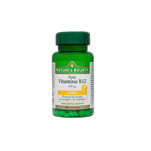 VITAMINA B12 500 MCG 100 COMP NATURE'S BOUNTY