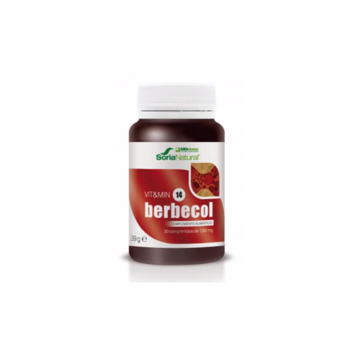 BERBECOL 30 COMP MGDOSE SORIA NATURAL