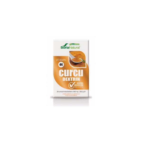 CURCUDEXTRIN CURCUMA 28 COMP MGDOSE SORIA NATURAL