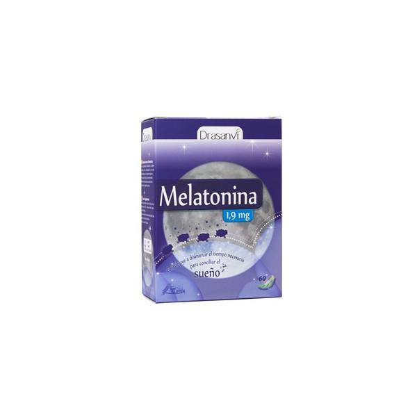 MELATONINA 1 MG 60 CAP DRASANVI