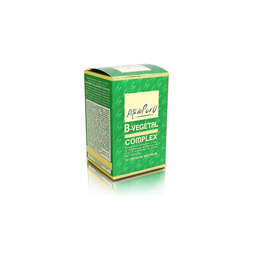B VEGETAL COMPLEX 30 CAP ESTADO PURO TONGIL