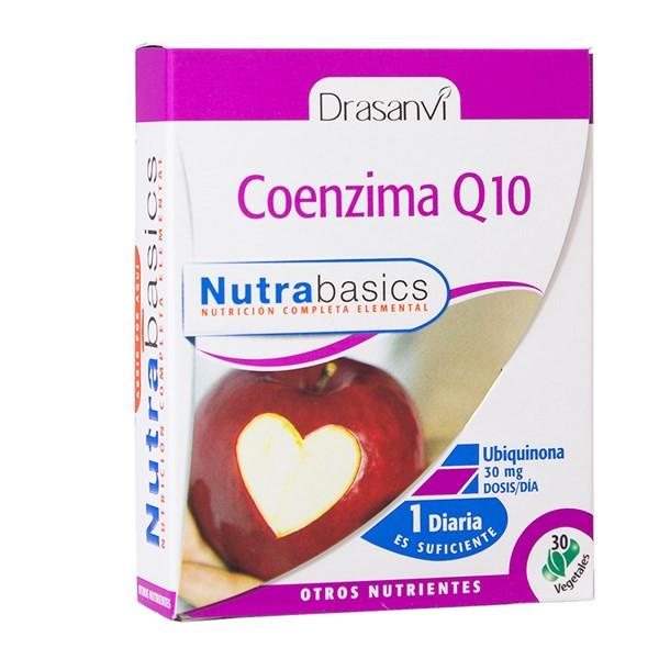 COENZIMA Q10 30 MG 30 CAP NUTRABASICS DRASANVI