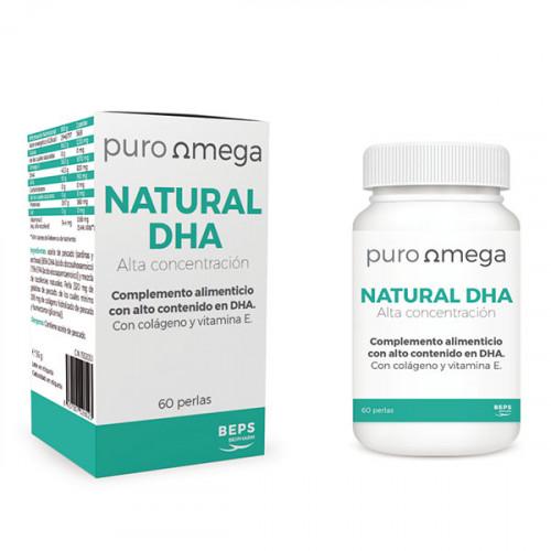 NATURAL DHA ALTA CONCENTRACION 60 PERLAS BEPS BIOPHARM