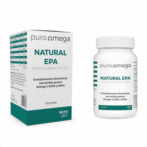NATURAL EPA 120 PERLAS BEPS BIOPHARM