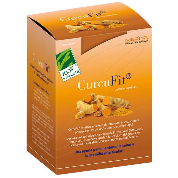 CURCUFIT FITOSOMAS CURCUMINA 500MG 60 CAP CIEN POR CIEN NATURAL