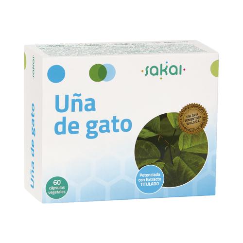 UÑA DE GATO 60 CAP SAKAI