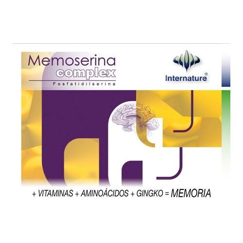 MEMOSERINA COMPLEX 60 CAP  INTERNATURE