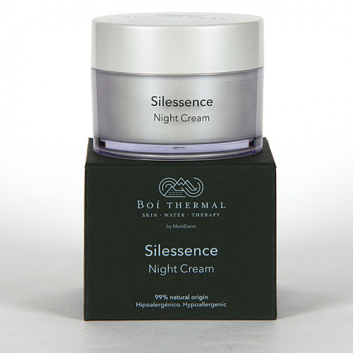 SILESSENCE NIGHT CREAM BOI THERMAL 50ML