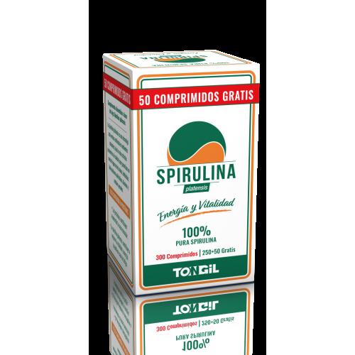 ESPIRULINA HAU 300 COMP. TONGIL