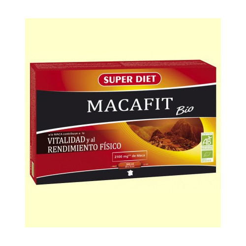 MACAFIT BIO 20 AMP 15 ML SUPER DIET