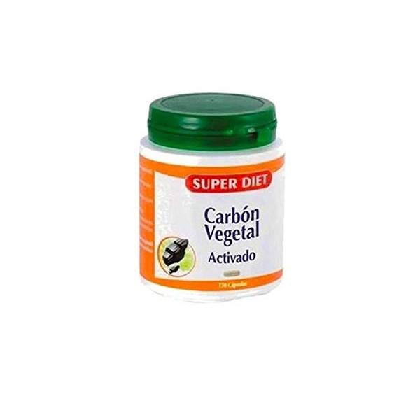 CARBON VEGETAL ACTIVADO 150 CAP SUPER DIET