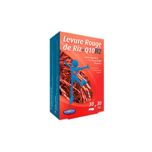 LEVADURA ROJA ARROZ BIO ORTHO Q10H2 30 CAP ORTHONAT