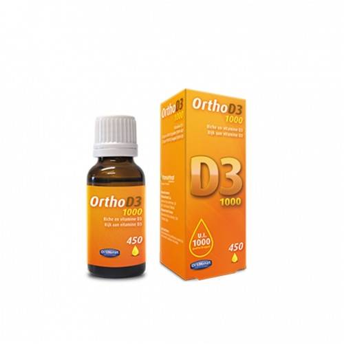 ORTHO D3 1000 UI 20 ML VITAMINA D3 ORTHONAT