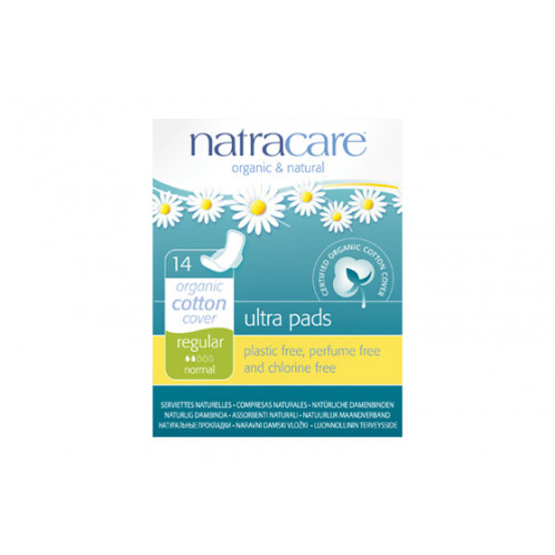 NATRACARE COMPRESA REGULAR CON ALAS PLEG