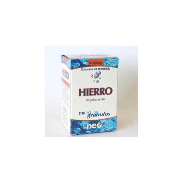 HIERRO MICROGRANULOS 50 CAP NEO PHO