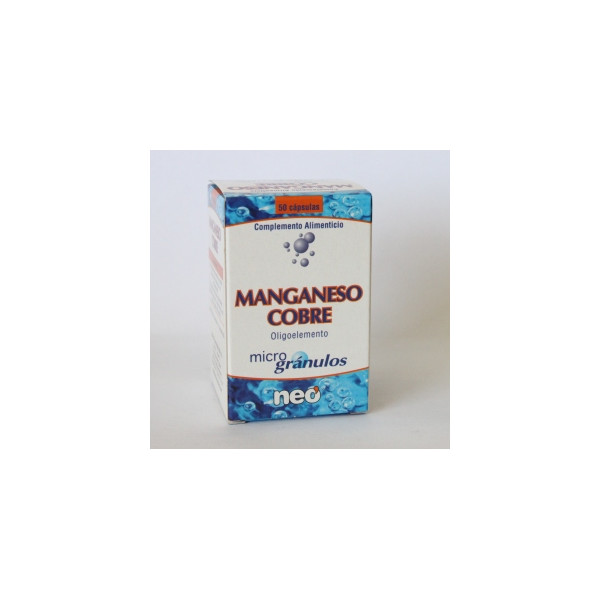 MANGANESO COBRE MICROGRANULOS PIDOLATO 45 CAP.NEO PHO
