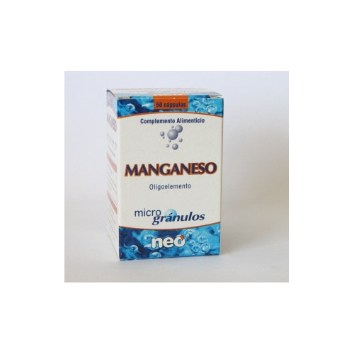 MANGANESO MICROGRANULOS 50 CAP NEO PHO