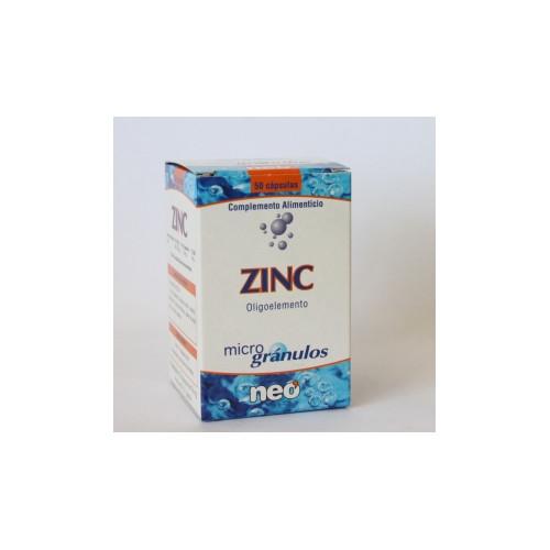 ZINC MICROGRANULOS 50 CAP...