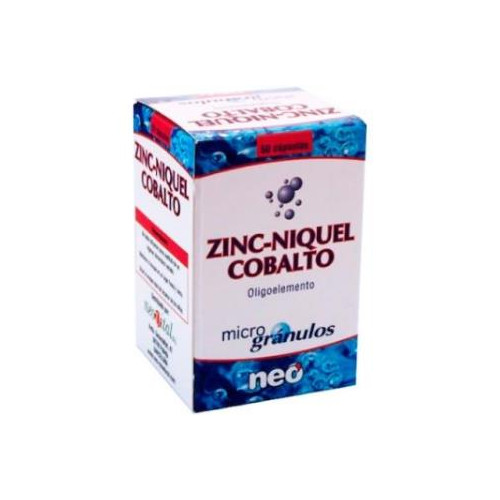 ZINC NIQUEL COBALTO MICROGRANULOS 50 CAP