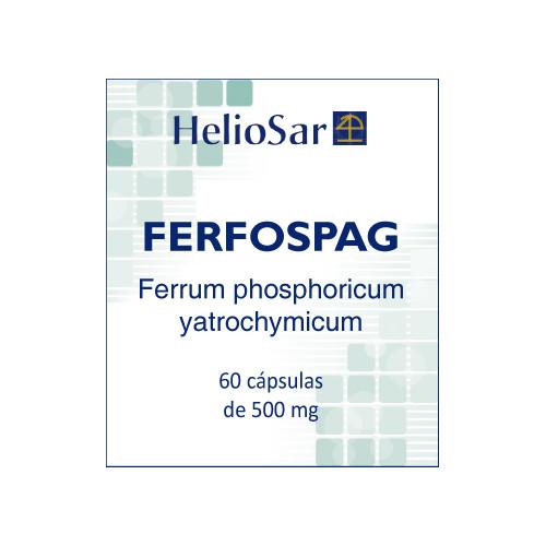 FERFOSPAG 60 CAPS HELIOSAR
