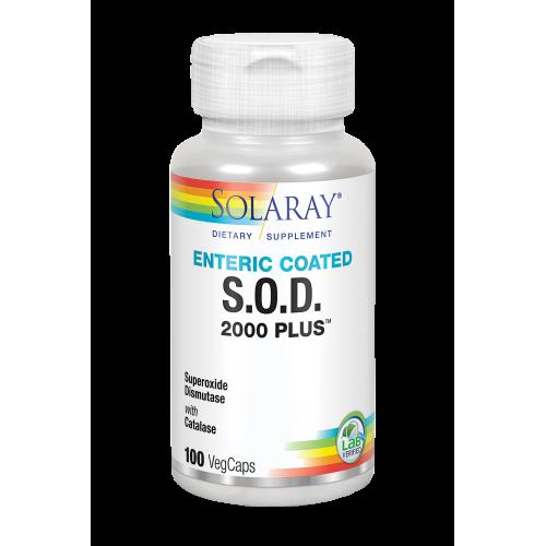 S.O.D. 2000 PLUS 100 VEGCAPS SOLARAY