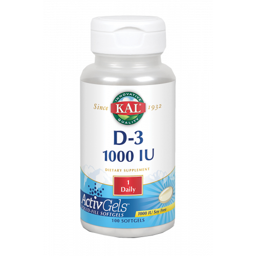 VITAMINA D 1000 UI 100 CAP SOLARAY