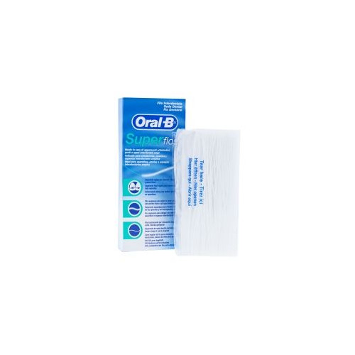 SUPER FLOSS ORAL-B SEDA DENTAL 50U