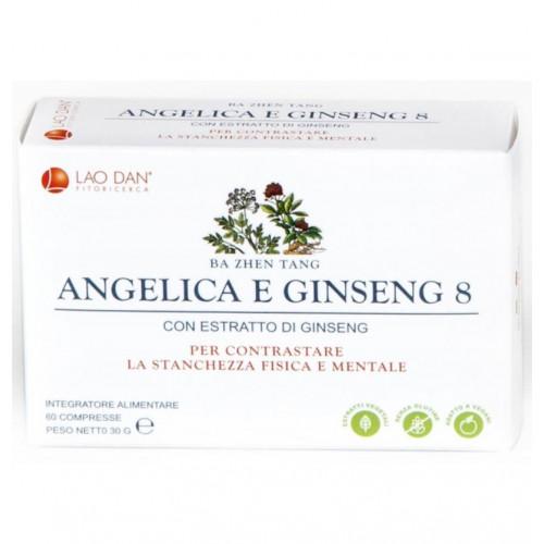 ANGELICA GINSENG 8 - BA ZHEN TANG 60 COMP LAO DAN PLANTANET