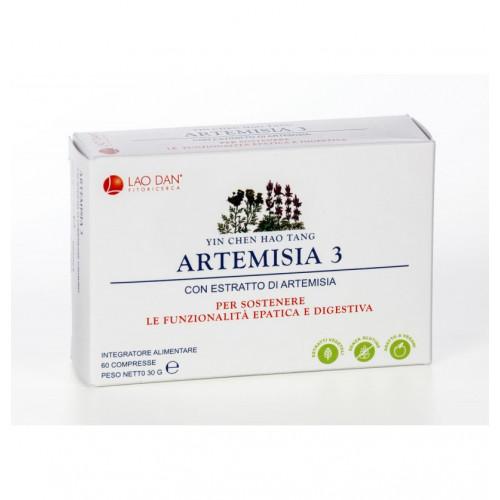 ARTEMISIA 3 - YIN CHEN HAO TANG 60 COMP LAO DAN PLANTANET