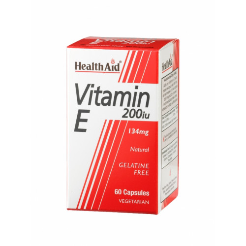 VITAMINA E NATURAL 200 UI 60 CAP NUTRINAT