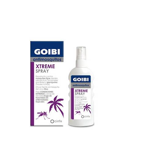 GOIBI XTREM SPRAY ANTIMOSQUITOS TROPICAL 75ML
