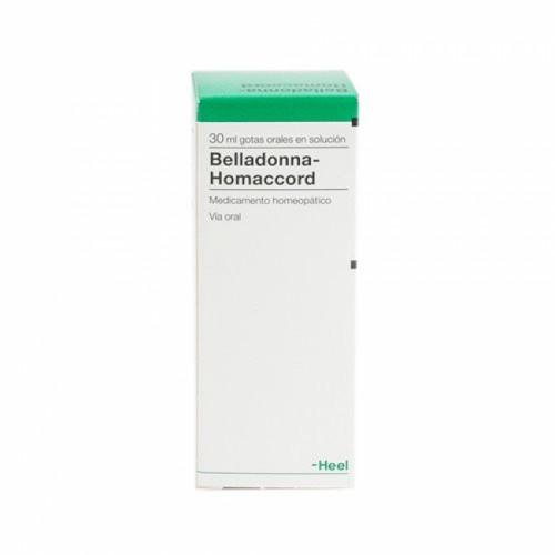 BELLADONA HOMACCORD GOTAS 30 ML HEEL