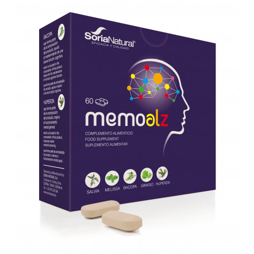 MEMOALZ 60 COMP SORIA NATURAL