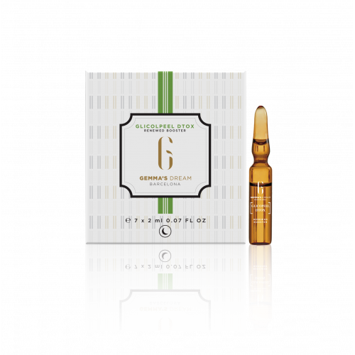 GLICOLPEEL DETOX 7 AMPOLLAS 2 ML GEMMAS DREAM BARCELONA