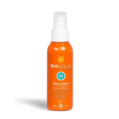 BIOSOLIS SPRAY SOLAR SPF50 100ML.