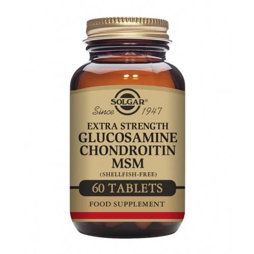 GLUCOSAMINA CONDROITINA MSM 60 COMP SOLGAR
