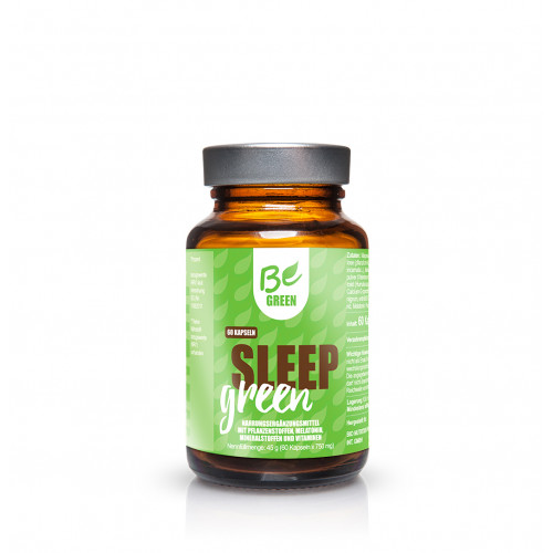 SLEEP GREEN 60 CAPS (MELATONINA & COFACTORES) BE GREEN