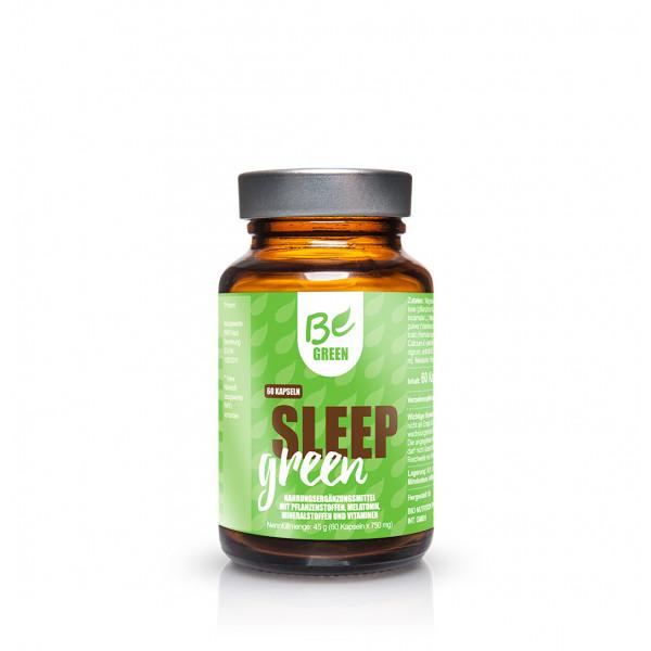 SLEEP GREEN 60 CAPS (MELATONINA & COFACTORES) BE GREEN