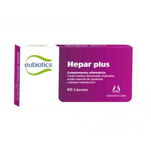 EUBIOTICS HEPAR PLUS 60 CAP COBAS